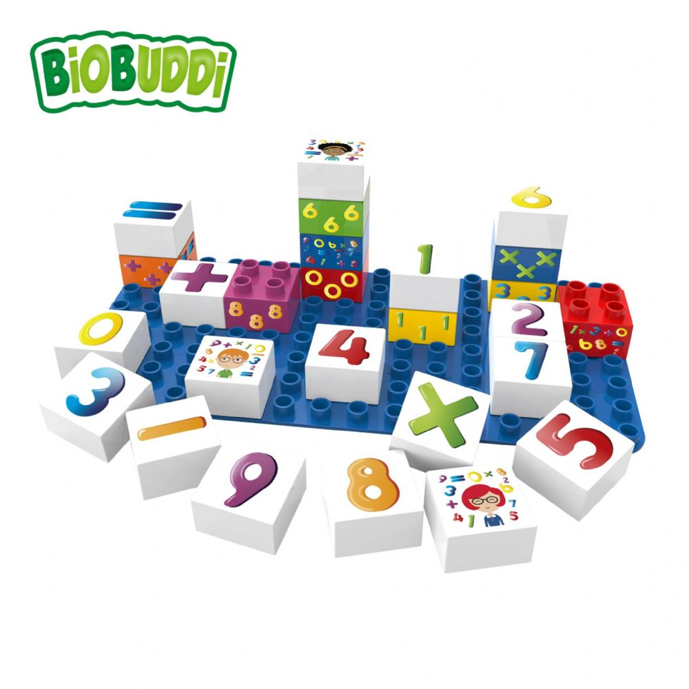 BiOBUDDi - Learning Numbers - 27 Blocks